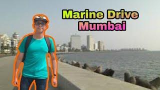 Marine Drive Mumbai   Nariman point   Short vlog   Technical Chaitanya vlogs