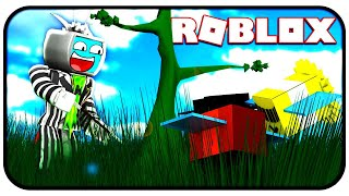 Farming Sprouts for Treats, Royal Jelly And Honey - Roblox Bee Swarm Simulator
