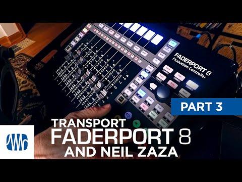 PreSonus—Neil Zaza on the Faderport 8 Part 3: Transport