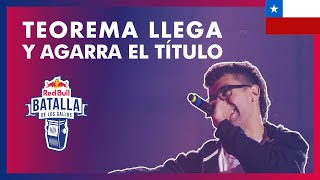 TEOREMA vs JOKKER - Final: Final Nacional Chile 2019   Red Bull Batalla de los Gallos