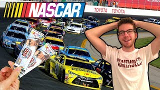 SURPRISING FRIEND WITH DREAM TICKETS**NASCAR RACE** (Part 1)
