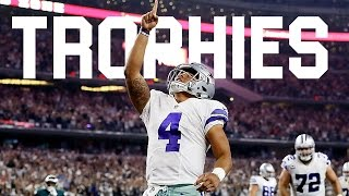 "Dak Prescott || ""Trophies"" || Dallas Cowboys || Rookie Season || Highlights ||"