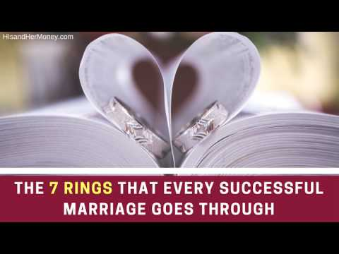 The Rings That Every Successful Marriage Goes Through