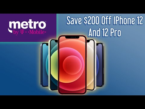 Metro By T-Mobile Offers $200 Off IPhone 12 And 12 Pro// Best Prepaid Deal?