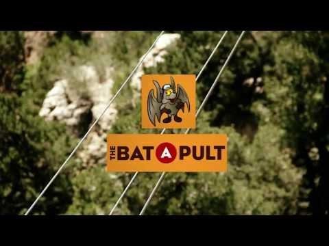 The Bat-a-Pult at Cave of the Winds