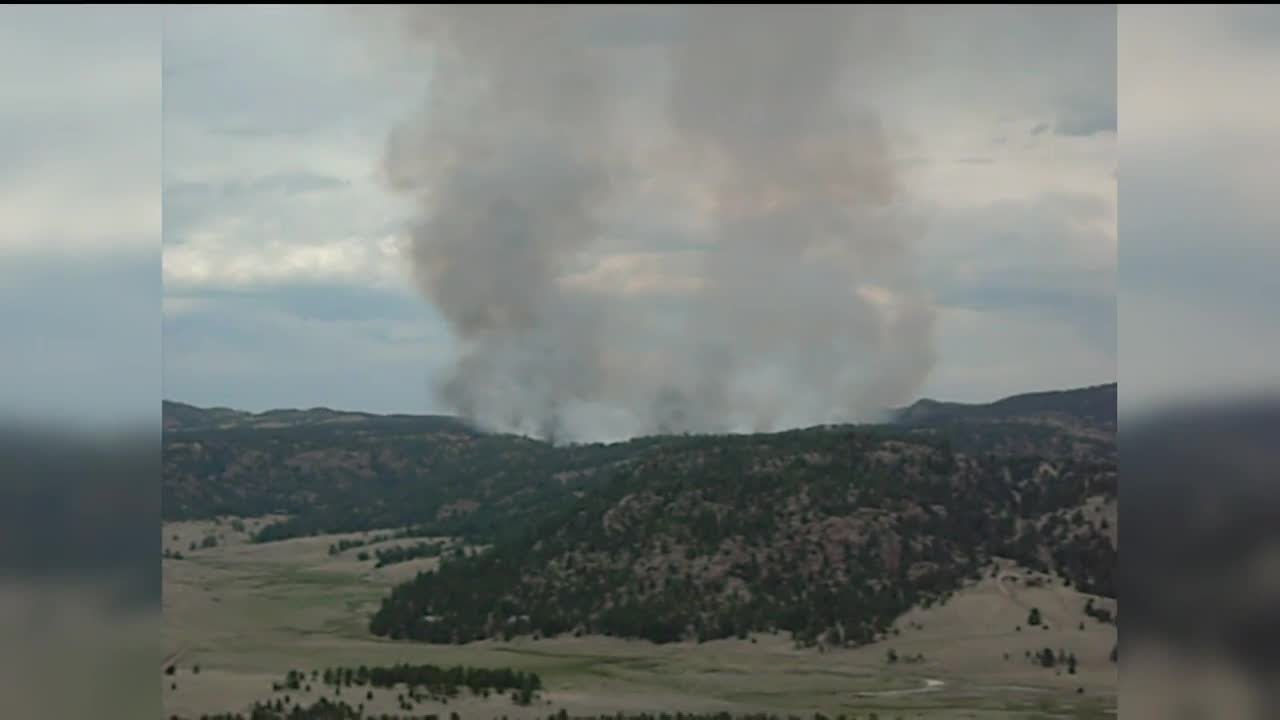 High Chateau Fire Forces Mandatory Evacuations In Teller County
