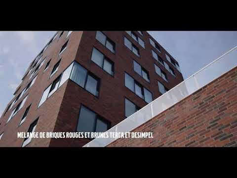 Une nouvelle construction dans le respect des constructions existantes à Ostende