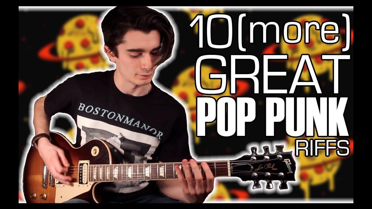 15 Great Pop Punk Riffs w/ Tabs - YouTube