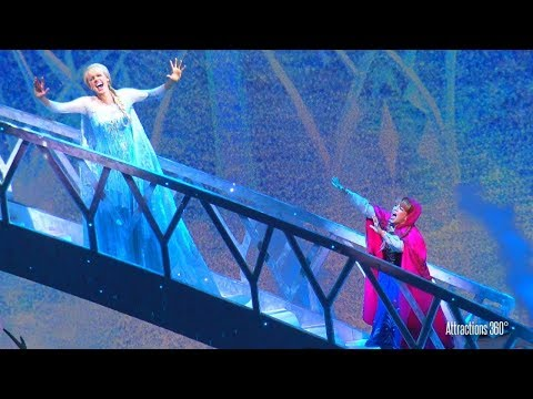 HD FROZEN Musical  Show at Disneyland Resort  Disney California Adventure