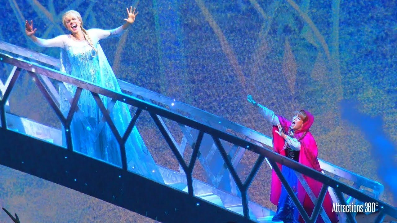 Ver [HD] FROZEN Musical Live Show at Disneyland Resort – Disney California Adventure en Español