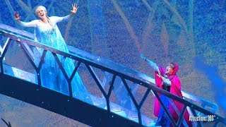 HD FROZEN Musical Live Show at Disneyland Resort - Disney California Adventure