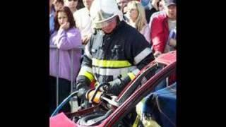 Désincarcération par les pompiers d'aubange 2
