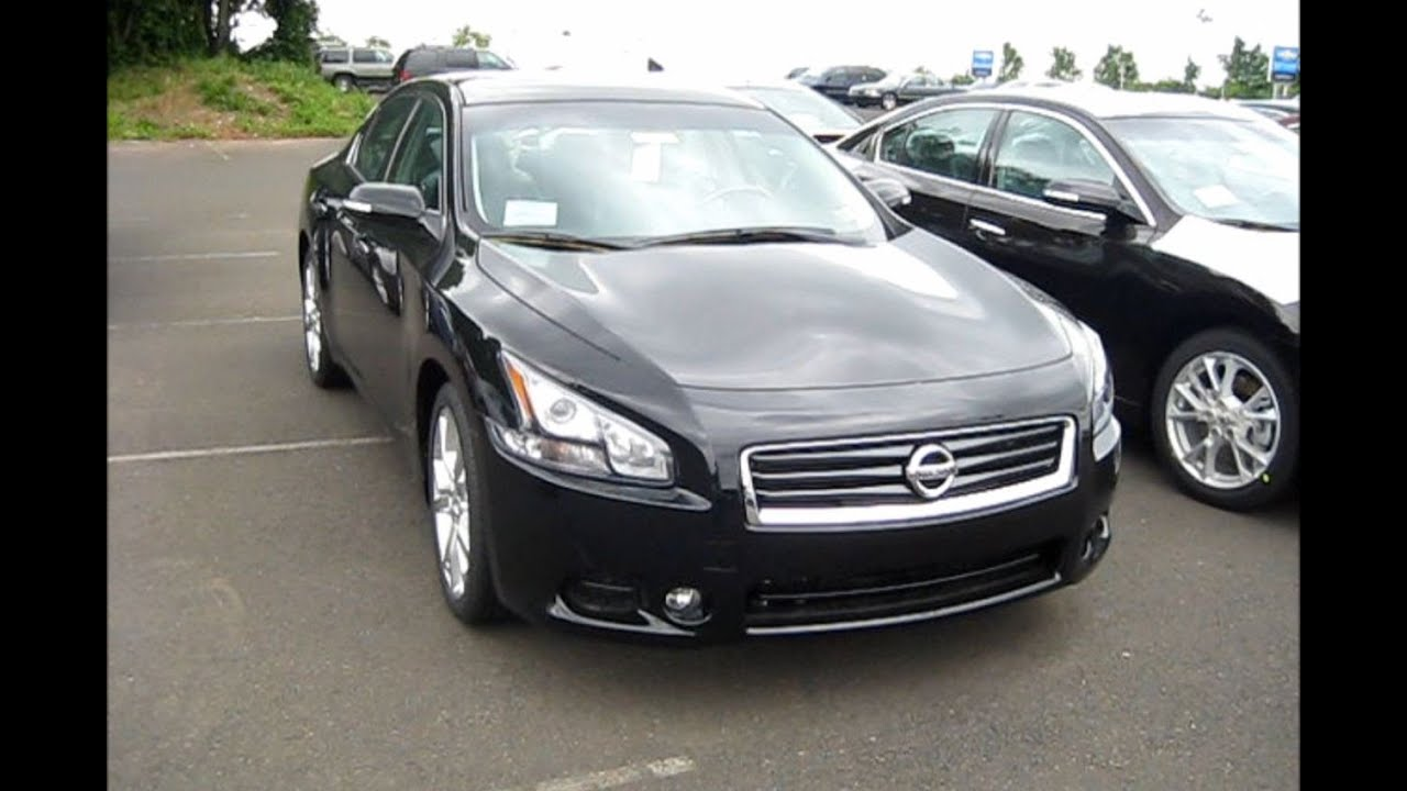 2012 Nissan Maxima 3.5 SV - YouTube