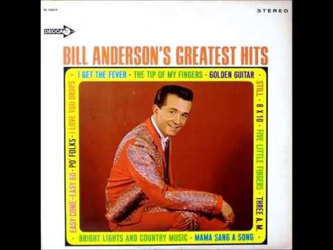 Po' Folks , Bill Anderson , 1961 Vinyl