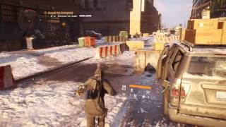 2 min of gameplay THE DIVISION OPEN BETA