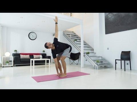Clase de pilates con ejercicios para aliviar dolor lumbar en 5 minutos