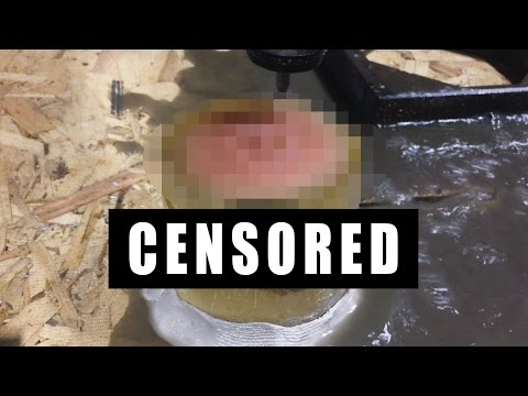 Mail Time Censored vs 60000 PSI Waterjet Cutter