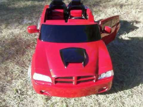 Modified Power Wheels Custom Built Inferno Red Pearl Dodge Charger