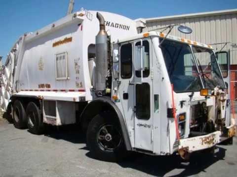Trash Trucks For Sale >> Garbage Trucks For Sale At Morethantrucks Com Mack Le613 Chagnon 25yd Rear Loader Truck