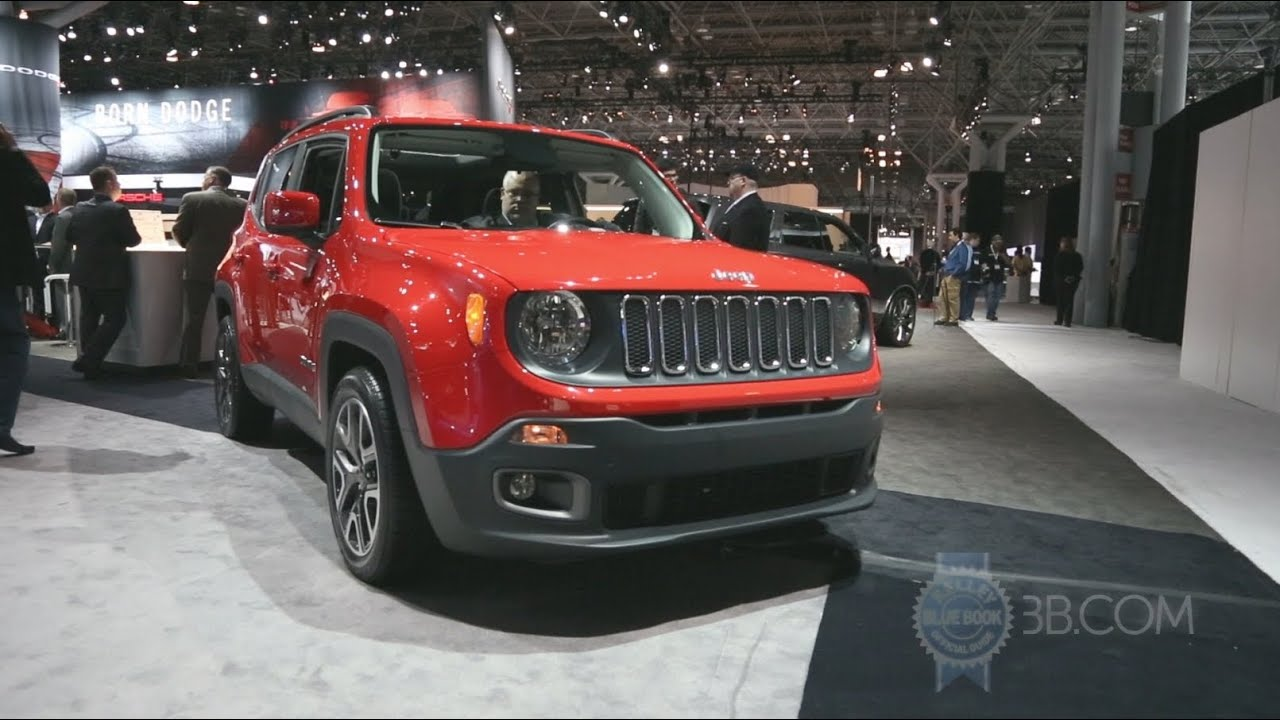 2015 jeep renegade 2014 new york auto show youtube. Black Bedroom Furniture Sets. Home Design Ideas