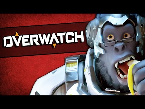 A SONG FOR HARAMBE - Overwatch Funny Moments
