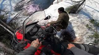 Снегоходный сезон закрыт Экстрим по Русски