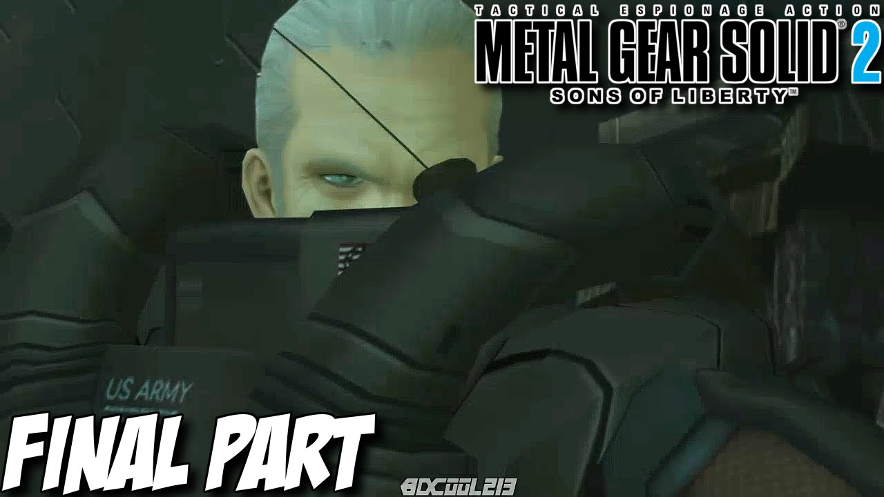 Let S Play Metal Gear Solid 2 Sons Of Liberty Hd Part 9 Solidus Snake Final Boss Battle Ending