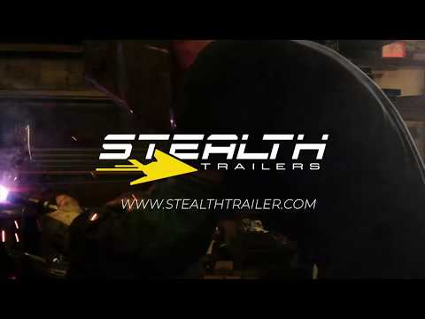 Stealth Trailers -  Nomad Toyhauler. The Ultimate Dual-purpose Camping And Work Trailer.
