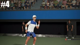 Novak Cokoviç - Online #4 - PS4 Oyun SON DANS AO Uluslararası Tenis -