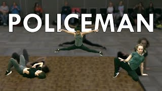 Eva Simons - Policeman | Radix Dance Fix Ep 4 | Brian Friedman Choreography