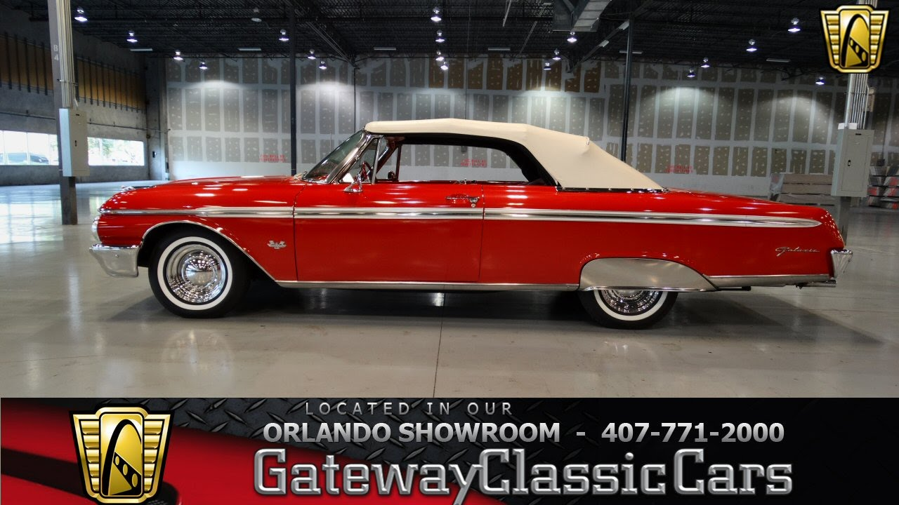Cars For Sale In Orlando >> 1962 Ford Galaxie 500 Sunliner Gateway Classic Cars ...
