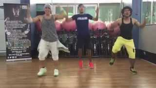 Oh Cecilia by the Vamps, Zumba Choreography by Pjammerz Dubai