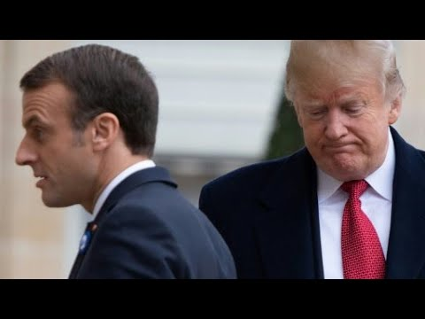 ترامب ينتقد ماكرون على -شعبيته الضعيفة- واقتراحه إنشاء جيش أوروبي  - نشر قبل 15 دقيقة