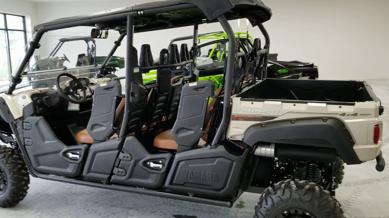 Yamaha Viking 6 Ranch Edition With 2 Lift Youtube