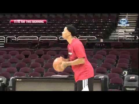 Chicago Bulls Derrick Rose Shootaround On Jan 23, 2014.