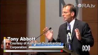 Dangers of Legalized Euthanasia? - Tony Abbott