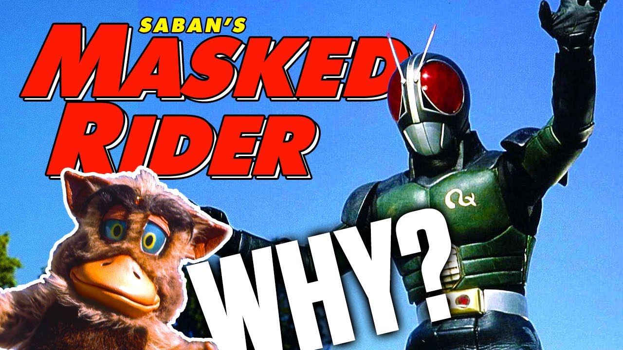 The Story of MASKED RIDER: Saban's Bizarre Kamen Rider Adaptation