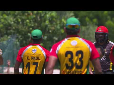 #CPL17 Highlights M2: Guyana v St Kitts & Nevis