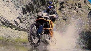 KTM1190 Adventure R Red Bull Athlete Chris Birch cuts loose