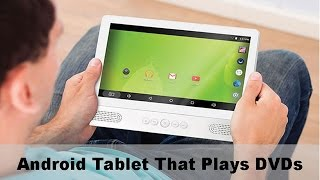 Tablet With DVD Player! Awesome!
