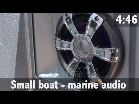 SMALL BOAT MARINE AUDIO