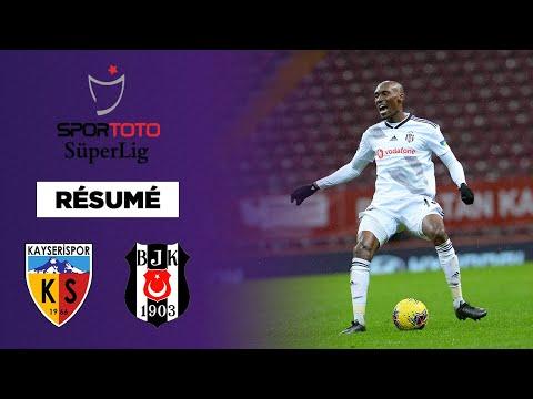 Résumé : Besiktas s'écroule à Kayserispor