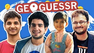 GEOGUESSR ft. Sugar Shah, future IM Vidit Gujrathi and father Anish Giri