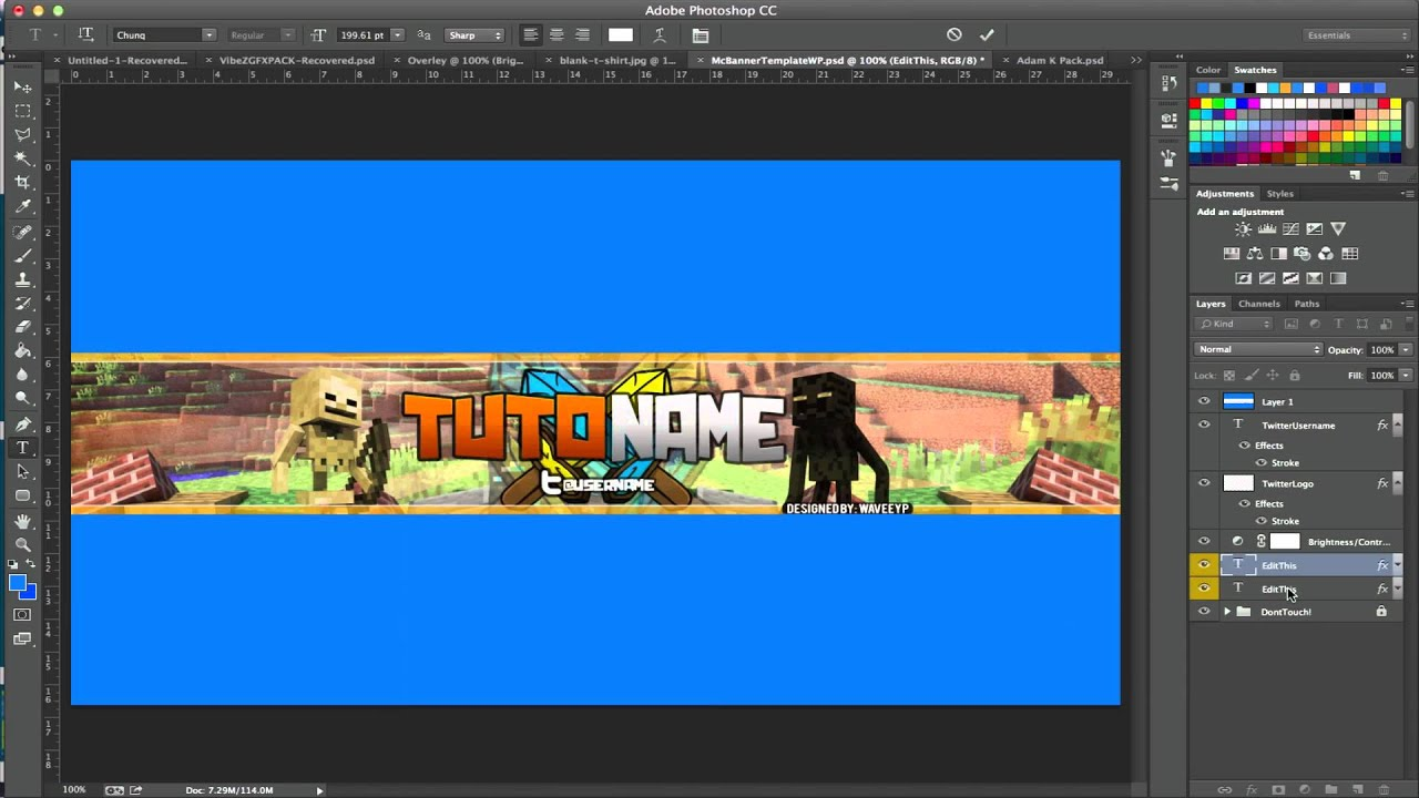 youtube gaming banner maker