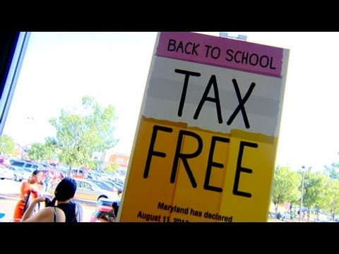 Tax Free Back to School Shopping Weekend