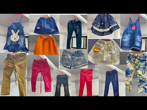 Trendy Jeans Design For Baby Girls    2021 Stylish Jeans Designs for Girls  baby girls jeans pants