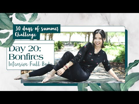 Day 20: Intensive Full Body | 30 Minute Fat Burn Home Workout | 30 Day Summer Pilates Challenge