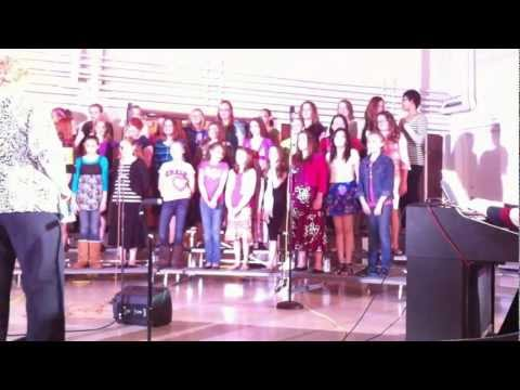 2012 Bettendorf Middle School 6th Grade Choral Concert 1
