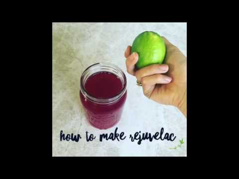 How to make Rejuvelac. A probiotic and enzyme rich beverage.