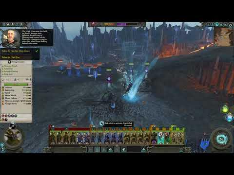 Total War Warhammer 2 - Dark Elves Vortex Final Battle FULL Malekith